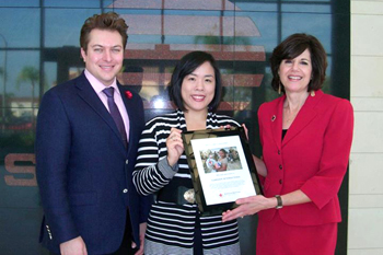 Sunrider Recognized for Supporting Role with the Red Cross